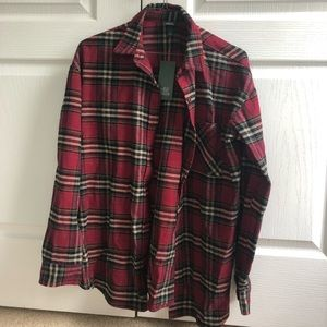 Wild fable plaid shirt
